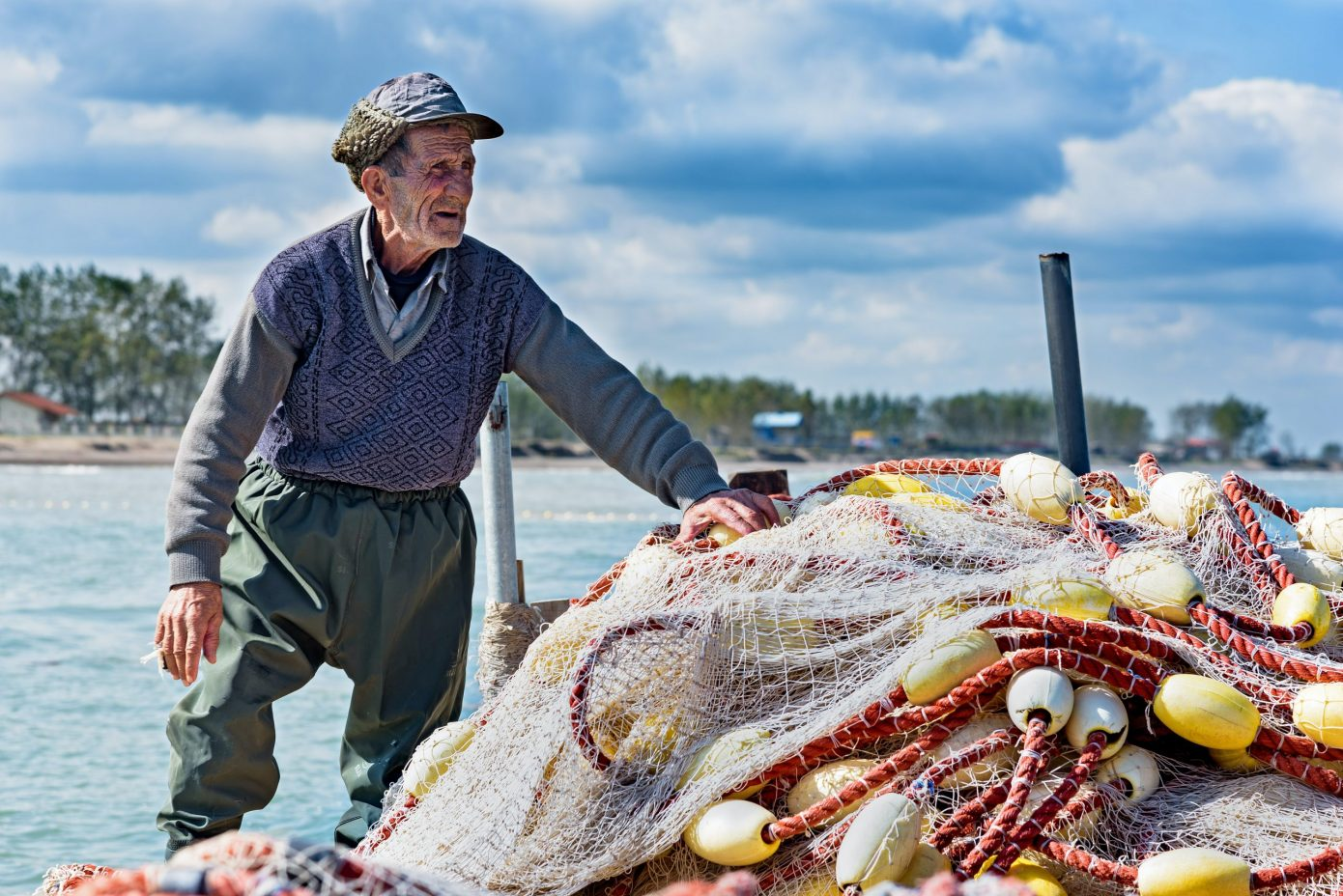 Old Man and Harbour